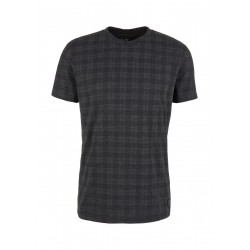 Jersey shirt with check print by Q/S designed by