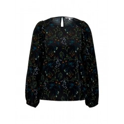 Patterned blouse with balloon sleeves by Tom Tailor Denim