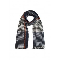 Scarf with woven structure by s.Oliver Red Label