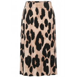 Plissée skirt with pattern by Street One