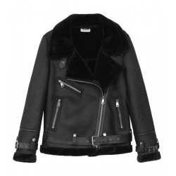 Jacket in leather-look by Molly Bracken