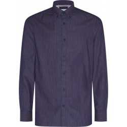 Slim fit shirt with woven pattern by Tommy Hilfiger