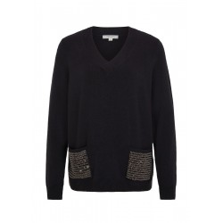 Pullover mit Applikation by Comma CI
