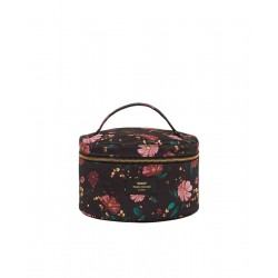Cosmetic bag BLACK FLOWERS XL by WOUF