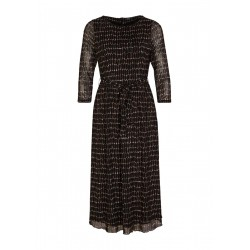 Midi dress from tender mesh by s.Oliver Black Label