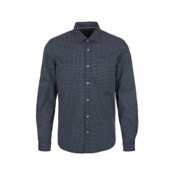 Coupe normale : chemise extensible à motifs by s.Oliver Red Label