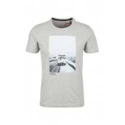 T-shirt avec photo by s.Oliver Red Label