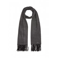 Soft scarf with fringes by s.Oliver Red Label