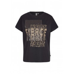 T-Shirt with sequin artwork by Q/S designed by