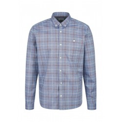 Regular: Shirt with button down collar by s.Oliver Red Label