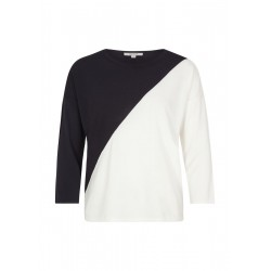 Two-Tone-Pullover by comma CI