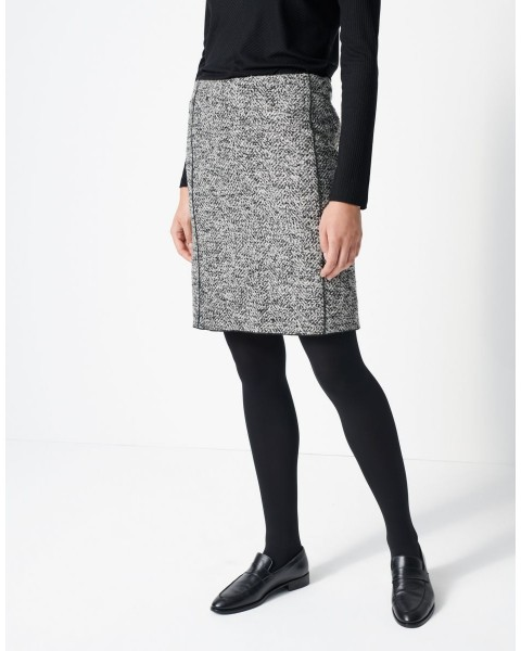 Wool skirt Odena bouclé by someday