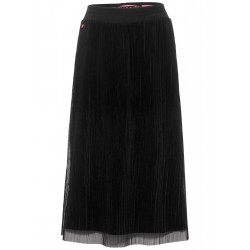 Midi skirt with mesh by Street One