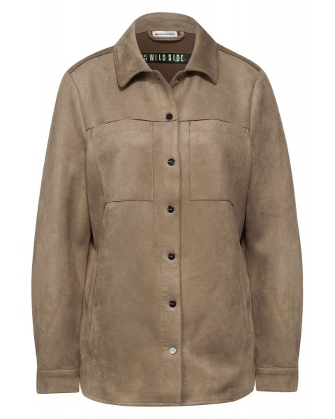 Velour Overshirt by Street One