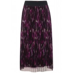 Mesh skirt with pattern by Street One