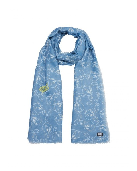 Scarf with Looney Tunes motif by s.Oliver Red Label