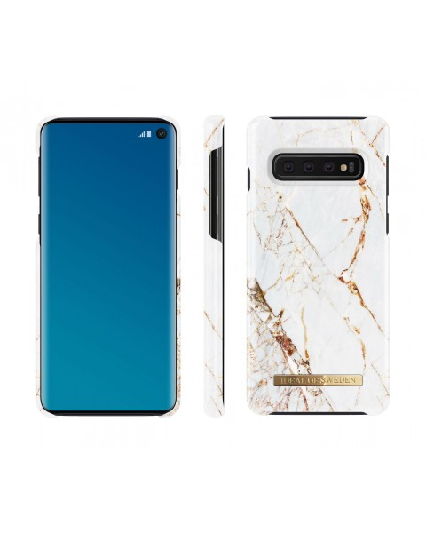 Cover CARRARA (Galaxy S10) by iDeal of Sweden