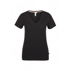Jersey v-neck shirt by Q/S designed by