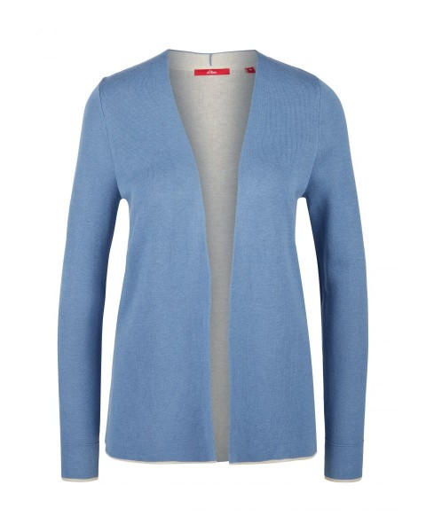 Cardigan with contrast details by s.Oliver Red Label