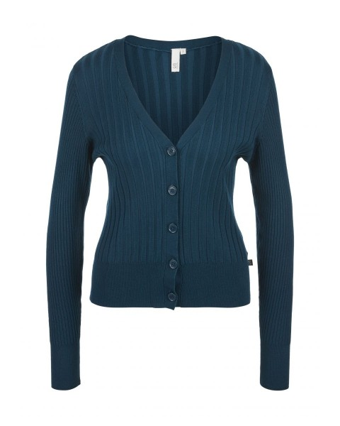 Cardigan with a rib structure by Q/S designed by