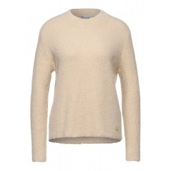 Soft feather yarn sweater by Street One