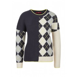 Wollmixpulli mit Argyle-Muster by s.Oliver Red Label