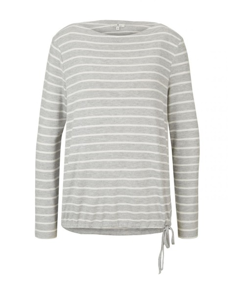 Striped long sleeve shirt by Tom Tailor