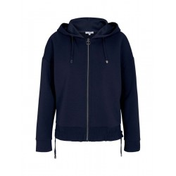 Loose sweat jacket with hood by Tom Tailor