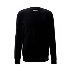 Sweatshirt with quilted structure by Tom Tailor Denim