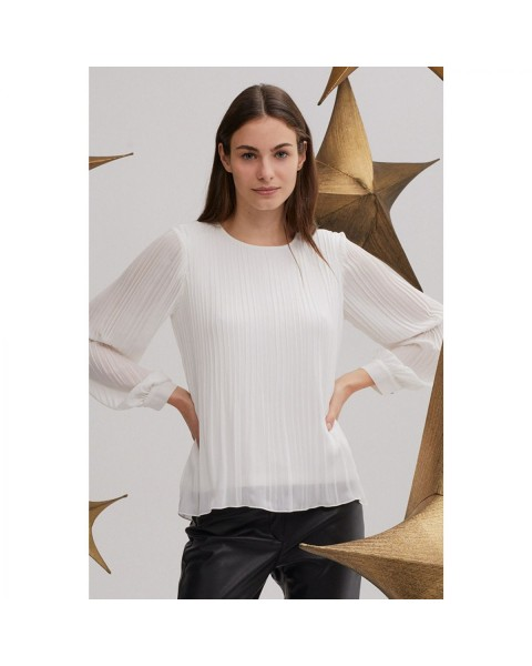 Pleated blouse by More & More