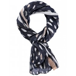 Contrast color scarf with fringes by Gerry Weber Collection