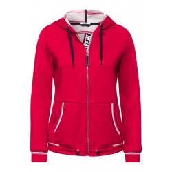 Sporty sweat jacket by Cecil