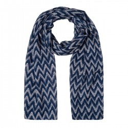 Scarf with zigzag print by More & More
