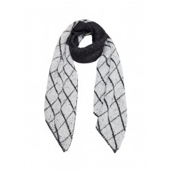 Jacquard knit scarf by s.Oliver Red Label