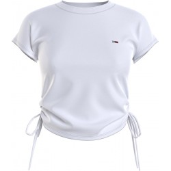 T-shirt with side bows by Tommy Jeans