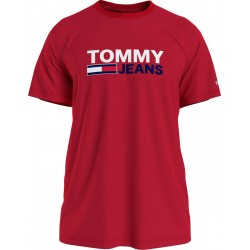T-shirt mit Logoprint by Tommy Jeans