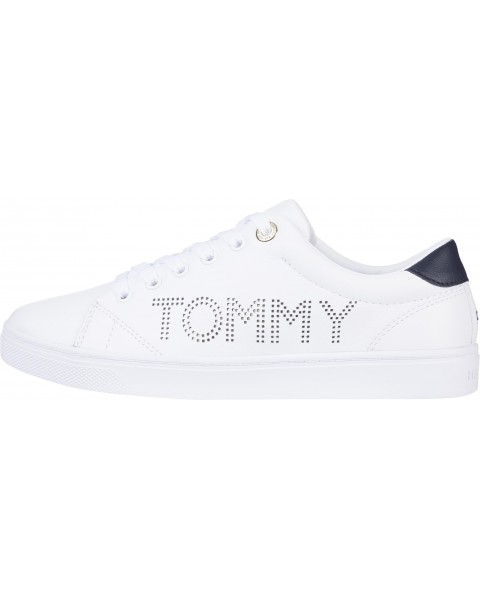 Sneaker with logo by Tommy Hilfiger