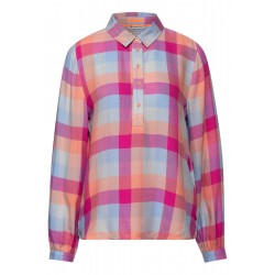 Feminine check blouse by Street One