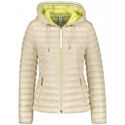 Quilted jacket with contrast lining by Gerry Weber Edition