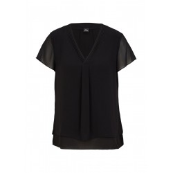 Layering-Bluse aus Chiffon by s.Oliver Black Label