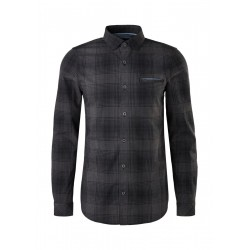 Slim: shirt with check pattern by s.Oliver Red Label