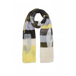 Light scarf with woven pattern by s.Oliver Red Label