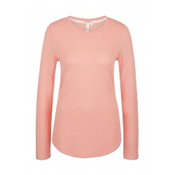 Soft fine knit long sleeve shirt by Q/S designed by