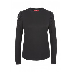 Longsleeve with gathers by s.Oliver Red Label