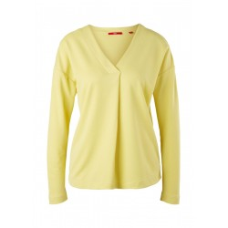 Long sleeve with piqué structure by s.Oliver Red Label