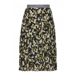 Pleated skirt with allover print by s.Oliver Red Label