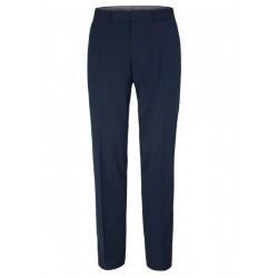 Slim: suit pants with stretch comfort by s.Oliver Black Label