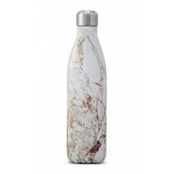 Drinking bottle Calacatta Gold by Swell