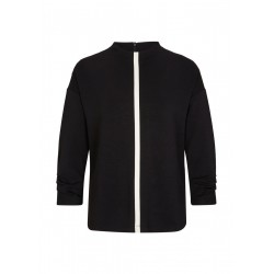 Jerseyshirt with contrast stripes by s.Oliver Black Label