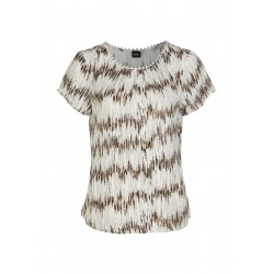 Viscose blouse with allover print by s.Oliver Black Label